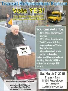 HandyDART White Rock Forum Poster v3a